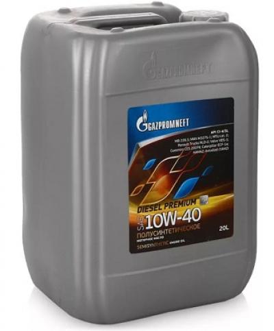 Gazpromneft diesel premium 10w 40 (20 л.)
