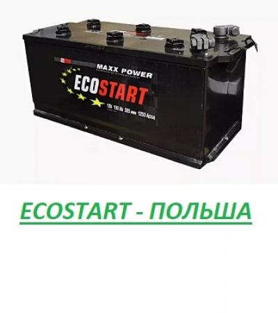 АКБ ECOSTART 190 Прям. пол. 1300A (Польша)