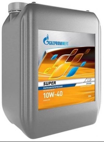 Gazpromneft Super полусинтетика 10W-40 20 л.